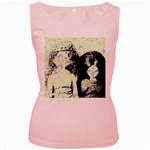 Mint Wall Women s Pink Tank Top