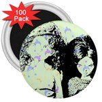 Mint Wall 3  Magnets (100 pack)