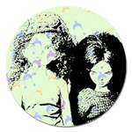 Mint Wall Magnet 5  (Round)