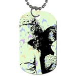Mint Wall Dog Tag (Two Sides)