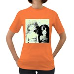 Mint Wall Women s Dark T-Shirt