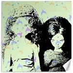 Mint Wall Canvas 16  x 16