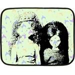 Mint Wall Fleece Blanket (Mini)