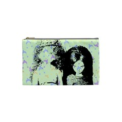Mint Wall Cosmetic Bag (small)  by snowwhitegirl