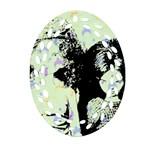Mint Wall Ornament (Oval Filigree)