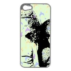 Mint Wall Apple Iphone 5 Case (silver) by snowwhitegirl