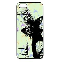 Mint Wall Apple Iphone 5 Seamless Case (black) by snowwhitegirl
