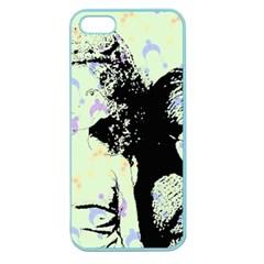 Mint Wall Apple Seamless Iphone 5 Case (color) by snowwhitegirl