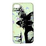 Mint Wall Apple iPhone 4/4S Hardshell Case with Stand