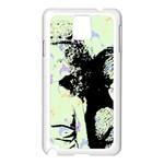 Mint Wall Samsung Galaxy Note 3 N9005 Case (White)