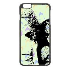 Mint Wall Apple Iphone 6 Plus/6s Plus Black Enamel Case by snowwhitegirl
