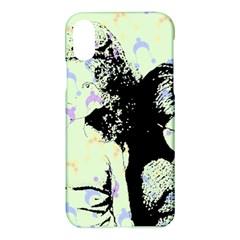 Mint Wall Apple Iphone X Hardshell Case by snowwhitegirl