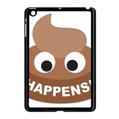 Poo Happens Apple Ipad Mini Case (black) by Vitalitee