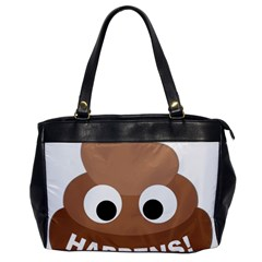 Poo Happens Office Handbags by Vitalitee