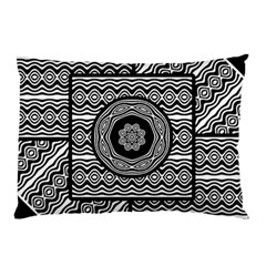 Wavy Panels Pillow Case (two Sides) by linceazul
