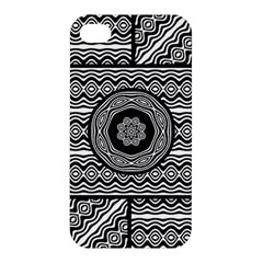 Wavy Panels Apple Iphone 4/4s Premium Hardshell Case by linceazul