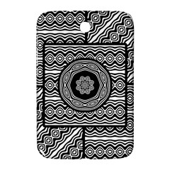 Wavy Panels Samsung Galaxy Note 8 0 N5100 Hardshell Case  by linceazul