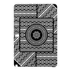 Wavy Panels Samsung Galaxy Tab Pro 12 2 Hardshell Case by linceazul