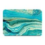 Mint,gold,marble,nature,stone,pattern,modern,chic,elegant,beautiful,trendy Plate Mats