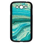 Mint,gold,marble,nature,stone,pattern,modern,chic,elegant,beautiful,trendy Samsung Galaxy Grand DUOS I9082 Case (Black)
