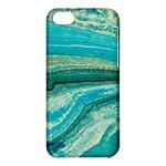 Mint,gold,marble,nature,stone,pattern,modern,chic,elegant,beautiful,trendy Apple iPhone 5C Hardshell Case