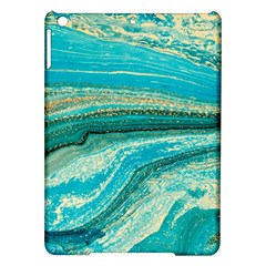 Mint,gold,marble,nature,stone,pattern,modern,chic,elegant,beautiful,trendy Ipad Air Hardshell Cases by 8fugoso