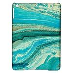 Mint,gold,marble,nature,stone,pattern,modern,chic,elegant,beautiful,trendy iPad Air Hardshell Cases