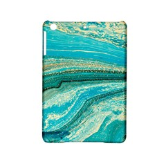 Mint,gold,marble,nature,stone,pattern,modern,chic,elegant,beautiful,trendy Ipad Mini 2 Hardshell Cases by 8fugoso