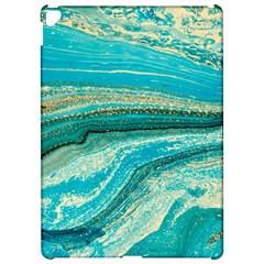 Mint,gold,marble,nature,stone,pattern,modern,chic,elegant,beautiful,trendy Apple Ipad Pro 12 9   Hardshell Case by 8fugoso