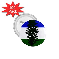 Flag Of Cascadia 1 75  Buttons (100 Pack)  by abbeyz71