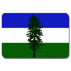 Flag Of Cascadia Large Doormat  by abbeyz71