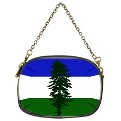Flag Of Cascadia Chain Purses (two Sides)  by abbeyz71