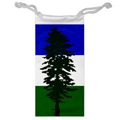 Flag Of Cascadia Jewelry Bag by abbeyz71