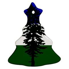 Flag Of Cascadia Ornament (christmas Tree)  by abbeyz71