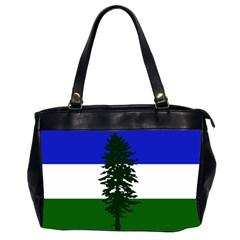 Flag Of Cascadia Office Handbags (2 Sides)  by abbeyz71