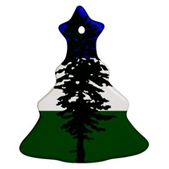 Flag Of Cascadia Ornament (christmas Tree)  by abbeyz71