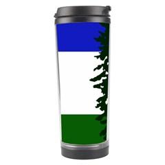 Flag Of Cascadia Travel Tumbler by abbeyz71