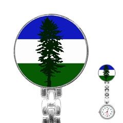 Flag Of Cascadia Stainless Steel Nurses Watch by abbeyz71