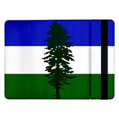 Flag Of Cascadia Samsung Galaxy Tab Pro 12 2  Flip Case by abbeyz71