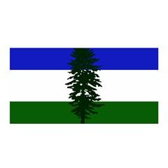 Flag Of Cascadia Satin Wrap by abbeyz71