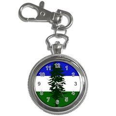 Flag Of Cascadia Key Chain Watches by abbeyz71