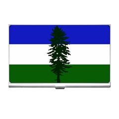 Flag Of Cascadia Business Card Holders by abbeyz71
