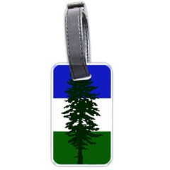 Flag Of Cascadia Luggage Tags (two Sides) by abbeyz71