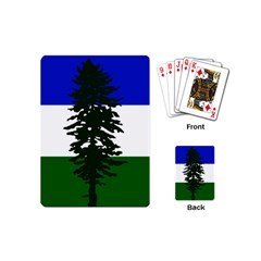 Flag Of Cascadia Playing Cards (mini)  by abbeyz71