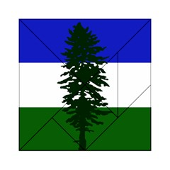 Flag Of Cascadia Acrylic Tangram Puzzle (6  X 6 ) by abbeyz71