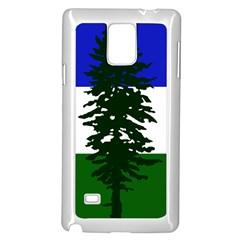 Flag Of Cascadia Samsung Galaxy Note 4 Case (white) by abbeyz71