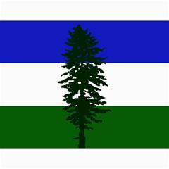 Flag Of Cascadia Canvas 12  X 16   by abbeyz71