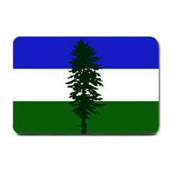 Flag Of Cascadia Small Doormat  by abbeyz71