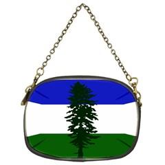 Flag Of Cascadia Chain Purses (one Side)  by abbeyz71