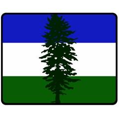 Flag Of Cascadia Fleece Blanket (medium)  by abbeyz71